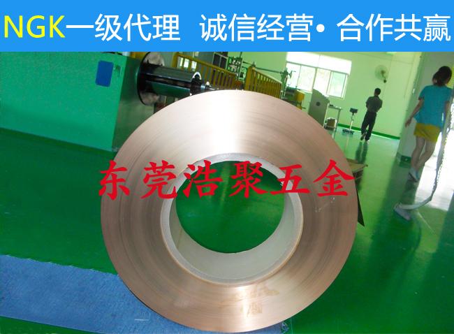 进口NGK铍铜带
